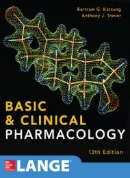 Basic and Clinical Pharmacology 13th