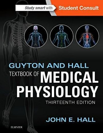 Guyton and Hall Textbook of Medical Physiology 13th Ed