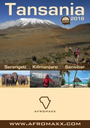 Afromaxx Afrika-Reisen-Katalog 2016