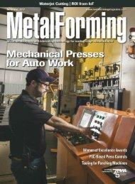 MetalForming magazine November 2017