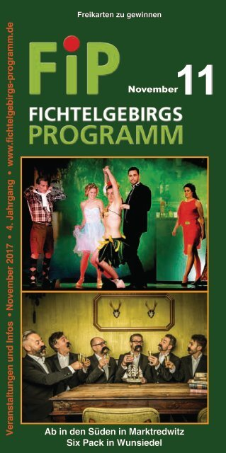 Fichtelgebirgs-Programm - November 2017
