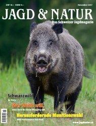 Jagd & Natur Ausgabe November 2017 | Vorschau