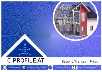 c-profile katalog Aussenseite