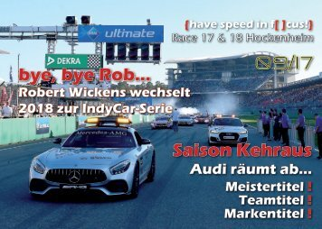{have speed in f[ ]cus!} DTM Race 17 und 18 - Hockenheim Finale 2017