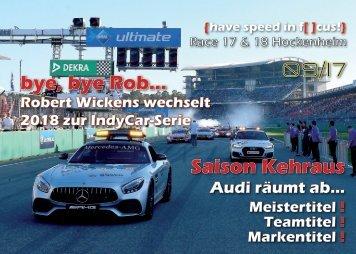 {have speed in f[ ]cus!} DTM Race 17 und 18 - Hockenheim Finale 2017