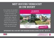 Erik Bessems Makelaardij, Verkocht flyer: Hekerdelstraat 2 Klimmen
