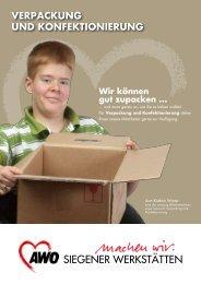 Verpackung und konfektionierung - AWO Kreisverband Siegen ...