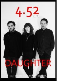 4.52am Issue@ 056 26th October 2017 - The Daughter Issue