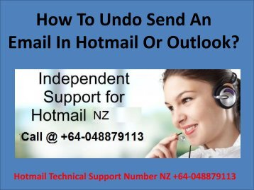 How to Undo Send an Email in Hotmail or Outlook?