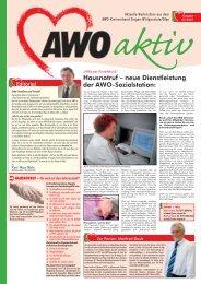 Im Gespräch mit AWO-aktiv erläutert - AWO Westliches Westfalen
