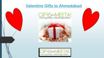 Send Valentine Gifts to Ahmedabad