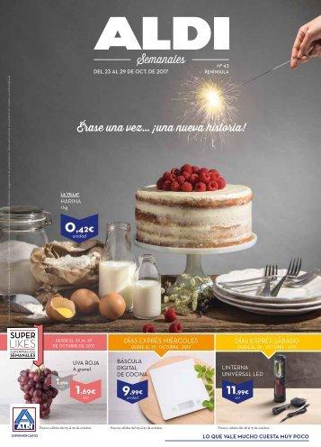 Revista ALDI hasta 29 de Octubre 2017