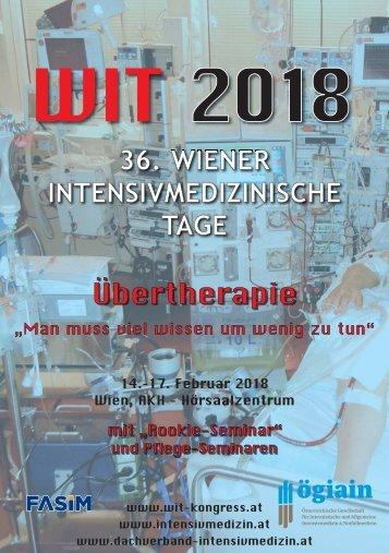 WIT Programm 2018