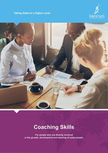 COACHING SKILLS  - Mercuri South Africa