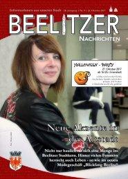 Beelitzer Nachrichten - Oktober 2017