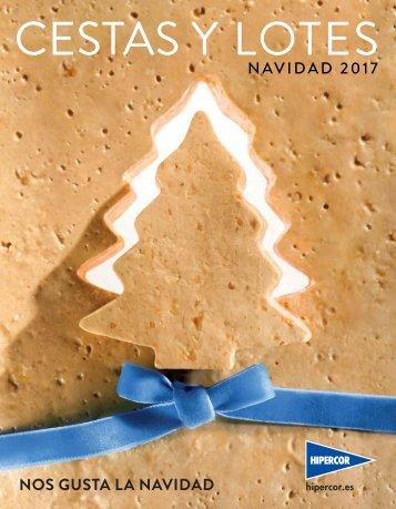 Catálogo HIPERCOR CESTAS Y LOTES NAVIDAD 2017