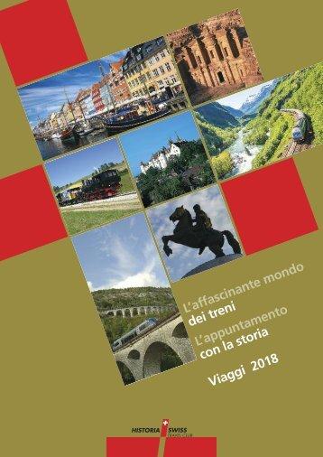 Historia Swiss Catalogo Viaggi 2018