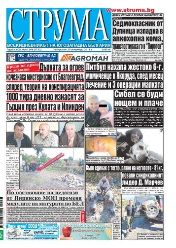 "Вестни ""Струма"" брой 246"