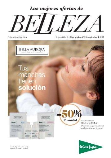 Las mejores ofertas de BELLEZA en El Corte Inglés del 26 de Octubre al 29 de Noviembre 2017