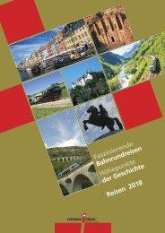 Historia Swiss Katalog Reisen 2018