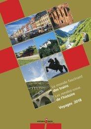 Historia Swiss Catalogue Voyages 2018