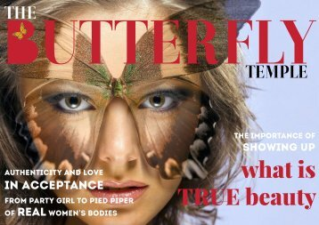 The Butterfly Temple eMagazine promo