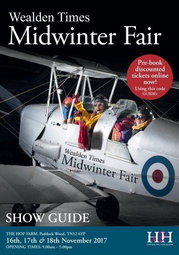 Showguide | MWF17 | Wealden Times Midwinter Fair 2017