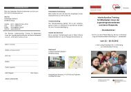 Interkulturelles Training für Mitarbeiter - AWO Kreisverband ...