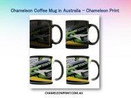 Chameleon Coffee Mug in Australia - Chameleon Print