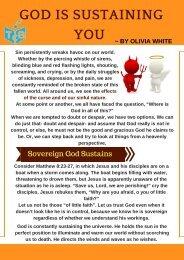 God is Sustaining You by Olivia White