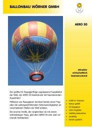 Sie können sich diese Seite als pdf downloaden - Ballonbau Wörner ...