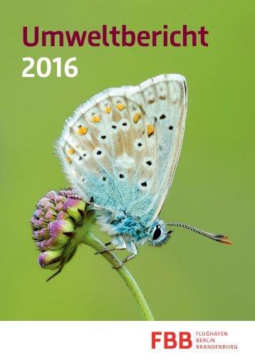 Umweltbericht 2016