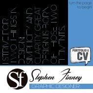 Stephen Finney Portfolio & CV