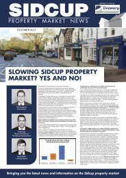 SIDCUP PROPERTY NEWS - OCTOBER 2017
