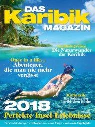 Das Karibik Magazin 2018