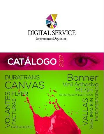 CATÁLOGO DIGITAL SERVICE