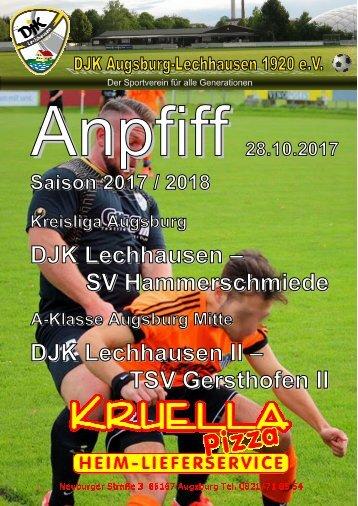 Anpfiff_2017-10-28 - DJK Lechhausen