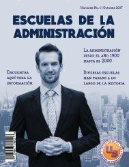 ESCUELAS DE LA ADMINISTRACION