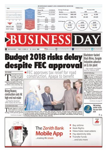 BusinessDay 27 Oct 2017