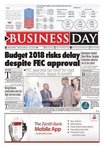 BusinessDay 27 Oct 2017