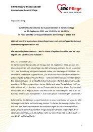 Presseinfo als pdf-Download - AWO Pflege Schleswig-Holstein ...