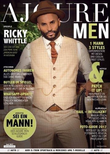Ajoure Men Magazin Juni 2017