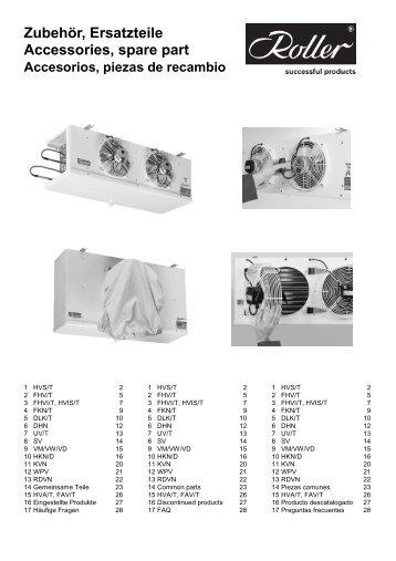 Montageanleitung von Roller