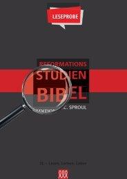 Reformations Studien-Bibel-Leseprobe