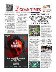 GoanTimes October 27th 2017 Issue