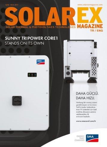 Solarex Magazine Eylül-Ekim 2017 Sayısı