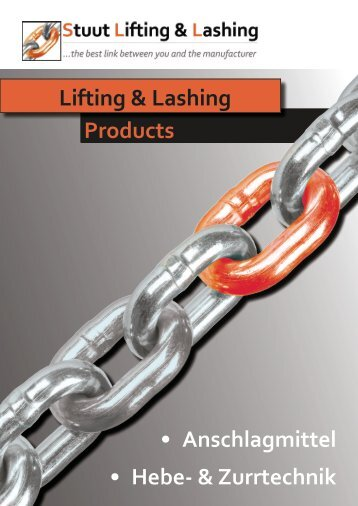 Stuut Lifting & Lashing Hauptkatalog