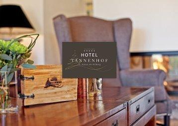 Hotel Tannenhof – Imageprospekt
