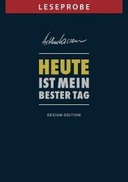 Leseprobe HEUTE-Buch Design-Edition