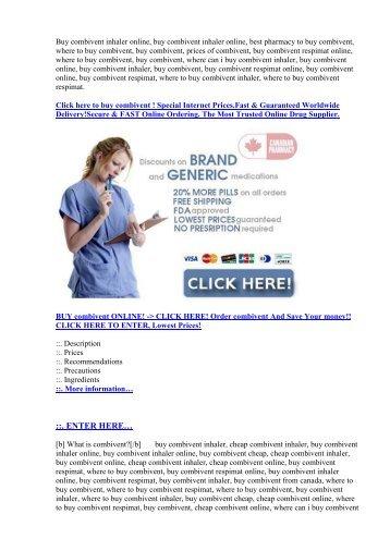 Buy combivent online,where to buy combivent inhaler.